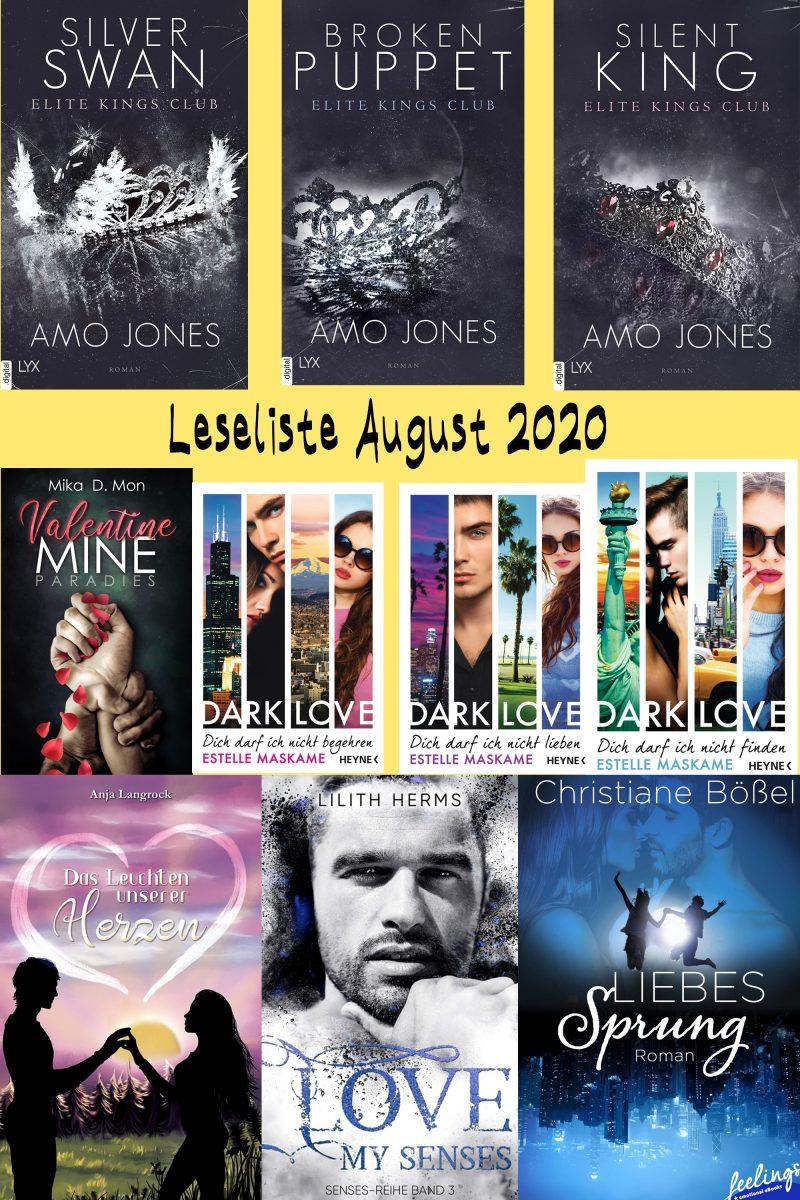 Leseliste August 2020